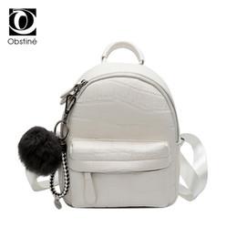$enCountryForm.capitalKeyWord Australia - Mini Backpacks Women Pu Leather Cute Small Backpack Female White Back Pack Black Backpacks For Teen Girls Fashion Bagpack Woman Y19061004