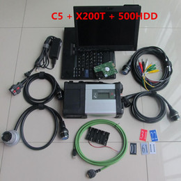 $enCountryForm.capitalKeyWord Australia - Top Hot selling MB Star C5 SD Connect Compact 5 with laptop x200t touch screen diagnosis PC installed MB SD C5 Soft-ware HDD