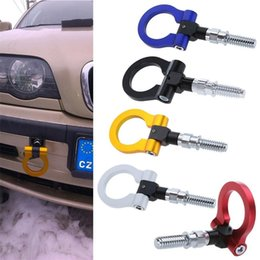 $enCountryForm.capitalKeyWord Australia - Car Racing Tow Towing Hook for BMW & Universal European Car Auto Trailer Ring Universal Vehicle Towing Hanger red Hot Free Shipping