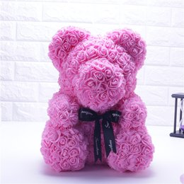 Soap Mascot Rose Flower Soap Bear Plush Toy Scented Bath Soap Lovers Valentines Day Birthday Christmas Wedding Present