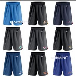 Hombres Angeles City Indianapolis Cincinnati Atlanta Buffalo nuevo estilo factura halcón Bengals Colts Jefe cargadores de punto de rendimiento Pantalones cortos en venta