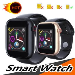 $enCountryForm.capitalKeyWord Australia - For apple iphone Z6 Sport Smart Watch Bluetooth 3.0 With Camera Bracelet Touch Screen 1.54 inch PK Q3 Q9 Support Android Phone Sim TF Card