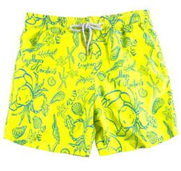95b3b232a1 Yellow Flag UK - M-XXL Yellow one New summer men's fashion swimming trunks  surt