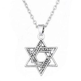 $enCountryForm.capitalKeyWord Australia - B28 Vintage Punk Necklaces Key of Solomon Seal Pendant Pentacle of Mars Talisman Pagan Wiccan Jewelry Necklace