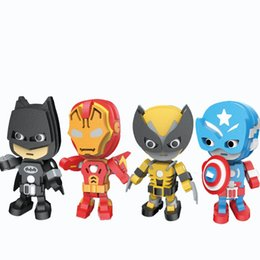 $enCountryForm.capitalKeyWord NZ - Foam Building Blocks Soft 3D The Avengers Spider Man Jigsaw Puzzle Cartoon Three Dimensional Doll Toys Kid Gifts 10 9mw N1