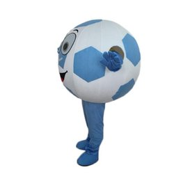 Halloween Costume Football UK - 2018 High quality hot adult football mascot costume with free shipping for Halloween party