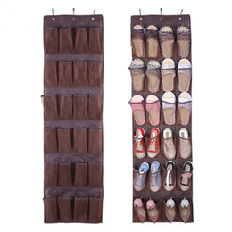 over door storage organizer NZ - hoe Racks & Organizers 24 Pockets Hanging Shoes Storage Bag Box Shoe Holder Rack Storage Tidy Toy Hanger Over Door Sapateira Organiza...