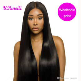$enCountryForm.capitalKeyWord Australia - Peruvian Straight Human Hair Bundles 10a grade virgin hair straight Double Weft 3 4 Pieces dhgate Remy Human Hair Bundles 8-32 inch URmeili