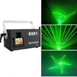 professional laser show equipment Australia - Laser equipment Single green color 1000mw DMX512 professional disco laser light show for large stage