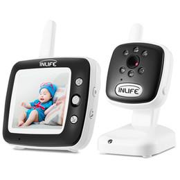 Inlife BM35Q Video Baby Monitor Camera Night Vision Light Lullaby Alarm on Sale