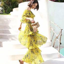 58bff25a5cb35 Long Sleeve Ruffle Maxi Dress Online Shopping   Long Sleeve Ruffle ...