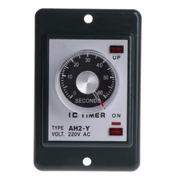 $enCountryForm.capitalKeyWord Australia - 0-60 seconds minutes Power On Delay Timer Relay With Socket Base AC 220V AH2-Y Time Switch