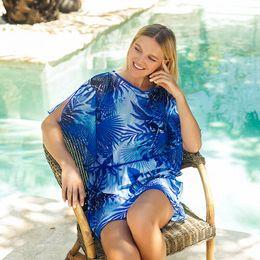 Wholesale swimwear 11 online – 11 Styles New Womens Floral Loose Cover Ups Beachwear Female Summer Hawaii Swimwear Beach Wear Lace Cover Ups