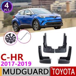$enCountryForm.capitalKeyWord Australia - 2017 2018 2019 car Mud Flaps Splash Guards cover fender mudguard for Toyota CHR C HR AX10 Mudguards accessories