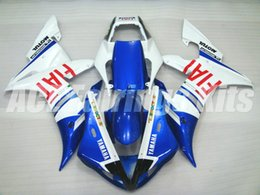 yamaha r1 fiat 2019 - 3 gifts High quality New ABS motorcycle fairings fit for YAMAHA YZF-R1 2002 2003 R1 02 03 YZF1000 fairing kits custom bl