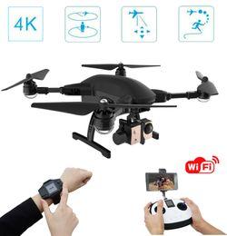 $enCountryForm.capitalKeyWord Australia - Simtoo Dragonfly foldable helicopter drone UAV with 4k HD camera,GPS watch + R C