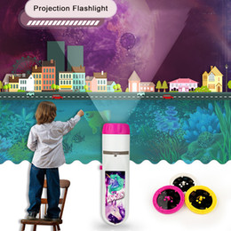 $enCountryForm.capitalKeyWord Australia - New hot puzzle projection flashlight early education creative luminous toy new strange children gift projection toy
