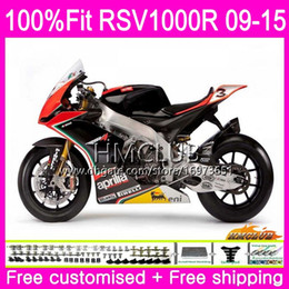 fairing rsv Canada - Injection For Aprilia RSV4 RSV1000RR Mille RSV1000 10 11 12 13 14 15 Gloss color 39HM.17 RSV 1000 RSV1000R 2010 2011 2012 2013 2015 Fairing