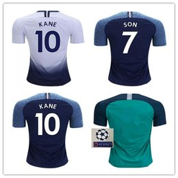 18c2ce8388c Top thailand quality KANE soccer jerseys 2019 spurs Home away jersey SON  Dembele Dele Son Eriksen football shirts 18 19