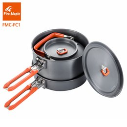 $enCountryForm.capitalKeyWord Australia - Fire Maple Outdoor Camping Hiking Cookware Backpacking Camping Tools Cooking Picnic Frypan Set Foldable Feast Cuisiner 1 FMC-FC1