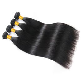 High Quality Bundle Human Hair NZ - Musi Hair High Quality Peruvian Straight Hair bundles 100% Unprocessed Human Hair Weave Extension 3 Bundles Weave Weft