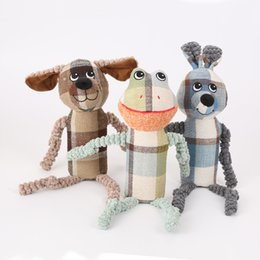 $enCountryForm.capitalKeyWord Australia - Foraway dog toys dog toys amazon hot selling dog, frog, rabbit grid style support drop shipping