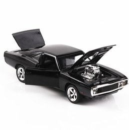 Fast toys cars online shopping - 1 Diecasts Toy Vehicles Fast And The Furious Dodge Model With Sound light Collection Car Toys For Boy Children Gift Q190604