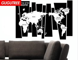 $enCountryForm.capitalKeyWord Australia - Decorate Home world map cartoon art wall sticker decoration Decals mural painting Removable Decor Wallpaper G-1641
