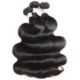 34 inches hair Australia - 12A Loose Wave Raw Human Hair Extensions 3 4Bundles Kinky Curly Body Wave Top Grade Quality Brazilian Peruvian Malaysian Indian Hair Bundles