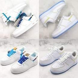 $enCountryForm.capitalKeyWord NZ - 07 New Classic Forced One Basketball Shoes Thread Embroidery Rainbow Yellow Mens Designer Shoes Outdoor Sneakers