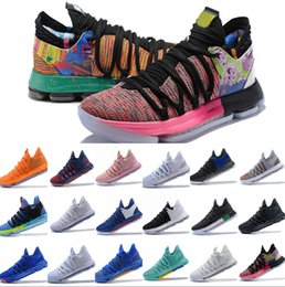 7eeaea33ba1c 2019 New KD 10 Anniversary University Red Still Kd Igloo BETRUE Oreo Men  Basketball Shoes USA Kevin Durant Elite KD10 Sport Sneakers
