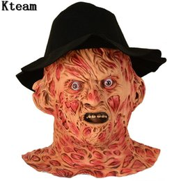 EastEr fancy drEss online shopping - Cosplay Freddy Krueger Mask Halloween Party Cosplay Mask Adult Scary Horror Costume Fancy Dress Scary Mask Halloween Christmas