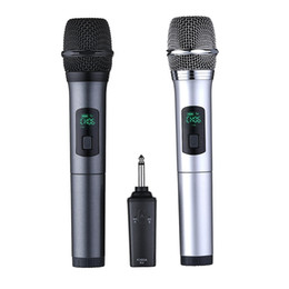 $enCountryForm.capitalKeyWord UK - 2 Pcs UHF Wireless Microphone for Audio Computer Karaoke Live Broadcasting @JH