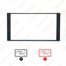 Car Refitting 2DIN DVD Frame DVD Panel Dash Kit Fascia Radio Audio Frame For Toyota Prado 4500 Camry PREVIA VIOS COROLLA #2295 on Sale