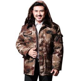 05cccc2806825 Winter Camouflage Clothing Hunting Australia - Winter Army Jacket Men  clothing plus size Male Parka Warm