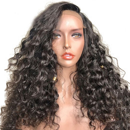 $enCountryForm.capitalKeyWord Australia - Human Hair Lace Wig Curly Bleached Knots Glueless Peruvian Hair Lace Front Wigs For Black Women Curly Full Lace Wigs With Baby Hair
