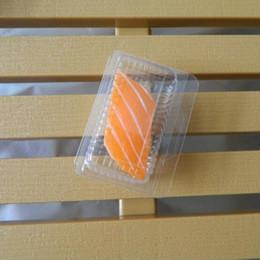 $enCountryForm.capitalKeyWord NZ - Transparent Plastic Sushi Box Disposable Clear Single Sashimi Salmon Sushi Mini Small Cake Packing Packaging Box ZC0476