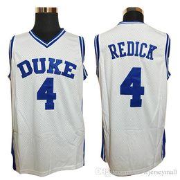cf07c003081d Mens Cheap Throwback Basketball Jerseys  32 Christian Laettner Jersey 4 J.J  Redick JJ University DUKES Stitched Basketball Shirts