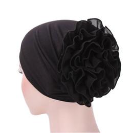 Womens Scarves Red Australia - JAYCOSIN 2018 Womens Hats Fashionable Flower Muslim Ruffle Cancer Chemo Hat Beanie Scarf Turban Head Wrap Cap j30
