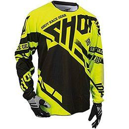 $enCountryForm.capitalKeyWord NZ - Men Riding Tops motorcy Team Moto Jersey Shirt Off Road Mountain Bike DH Bicycle DH BMX Moto Cross Jersey yellow