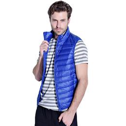 $enCountryForm.capitalKeyWord Australia - Nice New Men White Duck Down Vest Winter Ultra-light Warm Down Vest S-2xl Male Waistcoat Sleeveless Outwear Chaleco Hombre