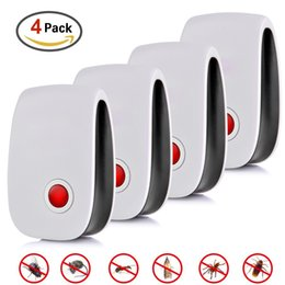 Electronic Ultrasonic Mouse Repellent NZ - 4pcs Repellent Hot Selling Electronic Multi-purpose Ultrasonic Killer Pest Tool For Mouse Cockroach C19041901