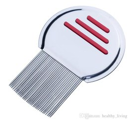tooth products Australia - NEW Stainless Steel Terminator Lice Comb Nit Free Kids Hair Rid Headlice Super Density Teeth Remove Nits Comb