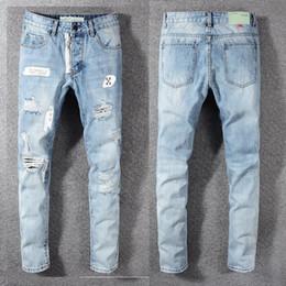 $enCountryForm.capitalKeyWord Australia - 2019 Summer New Man Up Jeans Washing In Waist Small Straight Foot Trousers###136