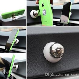 2 farben universal magnetische auto halterung 360 ° multifunktions dreh telefon magic auto dash halter magic stand halterung 50 stücke im Angebot
