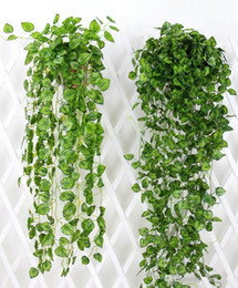 Hanging Vines Australia - 90cm in length Hanging Vine Leaves Artificial Greenery fake Plants Leaves Garland Home Garden Wedding Decorations Wall Decor