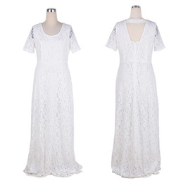 $enCountryForm.capitalKeyWord Australia - 5xl 6xl Plus Size Women Lace Dress 2xl-9xl Summer Maxi Dress Dresses Big Size Clothing Vintage White Black Lace Dresses Elegant