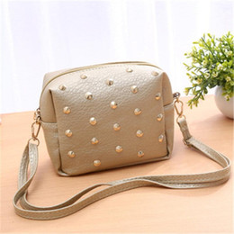 Genuine Leather Crossbody Handbags Wholesale Australia - NIBESSER Fashion Nice Shoulder Bag For Women Small Handbag Purse With Rivets Female Crossbody Bags Solid Mini Clutch With Zipper