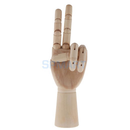 $enCountryForm.capitalKeyWord UK - Wooden Art Mannequin Hand Model - Sectioned Articulated Flexible Fingers Manikin Hand Figure for Drawing Sketching Painting Mold