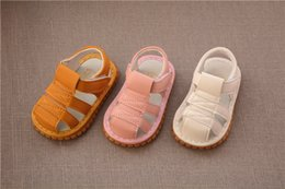 $enCountryForm.capitalKeyWord NZ - 2019 summer baby sandals will scream for shoes 1 year old baby soft bottom non-slip baotou anti-kick foot toddler shoes